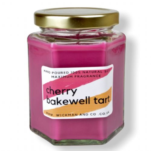Cherry Bakewell Tart Soy Wax Candle